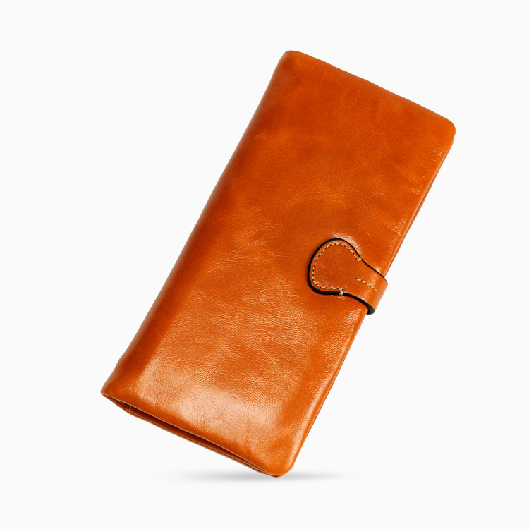 2017New Arrival Genuine Leather Women Wallet Fashion Brand Real Cowhide Wallet Long Design Clutch Female Purse With Card Holder