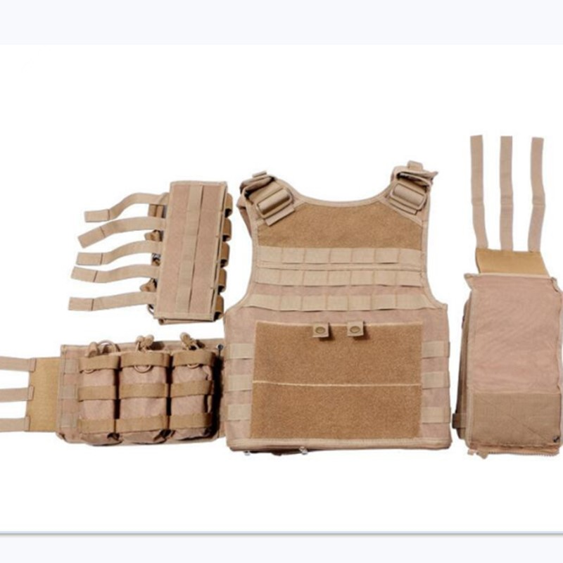 600D Nylon Molle Tactical Vest Anti wear Outdoor Hunting Shooting Camping Training CS Field Combat Gear Detachable Waistcoat - 6