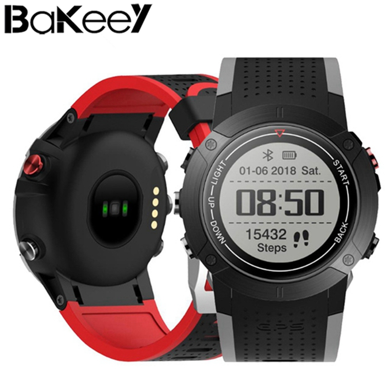 Bakeey DM18 1.28inch MT2523 IP68 GPS Multi Sport Mode Heart Rate Monitor Fitness Tracker Smart Watch Support Multi-Lanugages