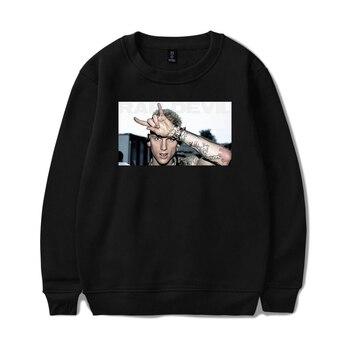 Mgk-machine Gun Kelly 2018 Rap Devil otoño cálido Sudadera con capucha mujeres/hombres moda larga Hoodies sin capucha Pullover Tops ropa