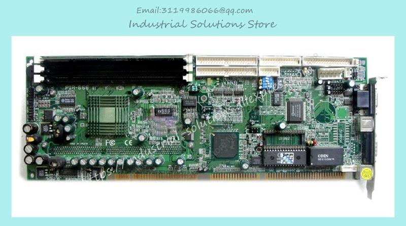 PIA-666 Industrial Motherboard Full-Length CPU Board 100% tested perfect quality 3 g41 motherboard775 needle cpu ddr2 ddr3 fully integrated 1g board 100% tested perfect quality