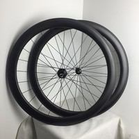 High End Quality Free Shipping 50mm Deep 1420 Spoke Carbon Clincher Wheels Bike Wheelset