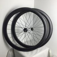 High end Quality Free shipping 50mm deep 1420 spoke carbon clincher wheels bike wheelset