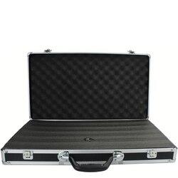58x32x9 см инструментальная коробка из алюминиевого сплава, уличная защитная коробка, ударопрочная коробка для инструментов, чемодан с жемчуж...
