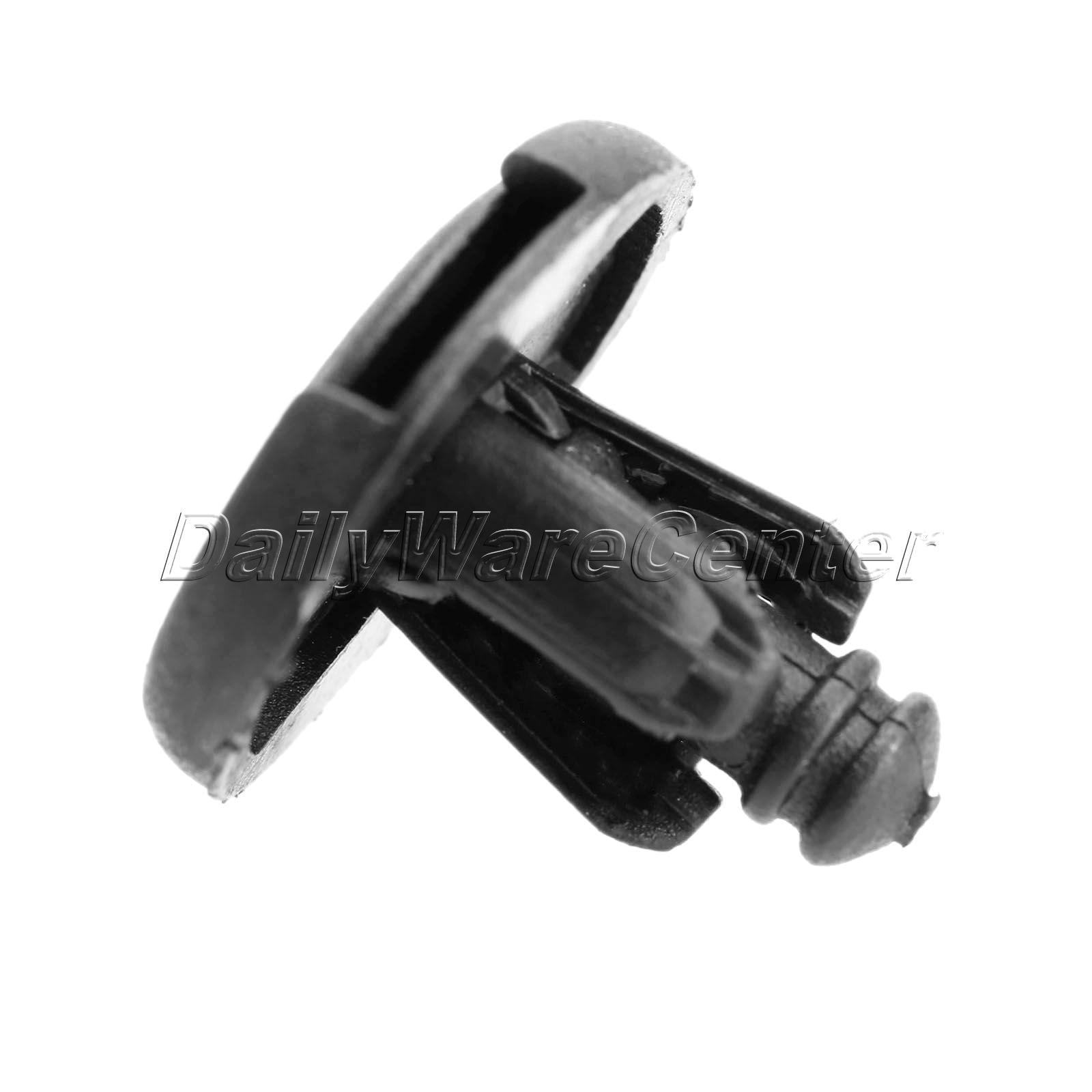 50 Teile / los Auto 7mm Loch Kunststoffnieten Verschluss Push Clips - Auto-Innenausstattung und Zubehör - Foto 4