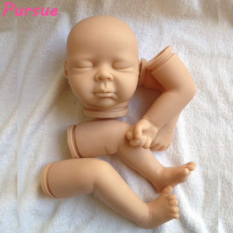 Pursue 21 inch Doll Kits For 20-22 inches Lifelike Soft Vinyl Reborn Dolls Parts Baby Alive Accessories For DIY Realistic Toys lifelike soft vinyl unpainted reborn doll kits 11 inch full vinyl boy doll anatomically correct soft vinyl reborn doll kits