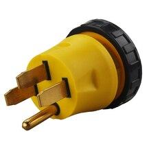 [14-50P до L5-30R] Plugrand 50 Amp мужской NEMA 14-50P до 30 Amp женский NEMA L5-30R адаптер для блокировки