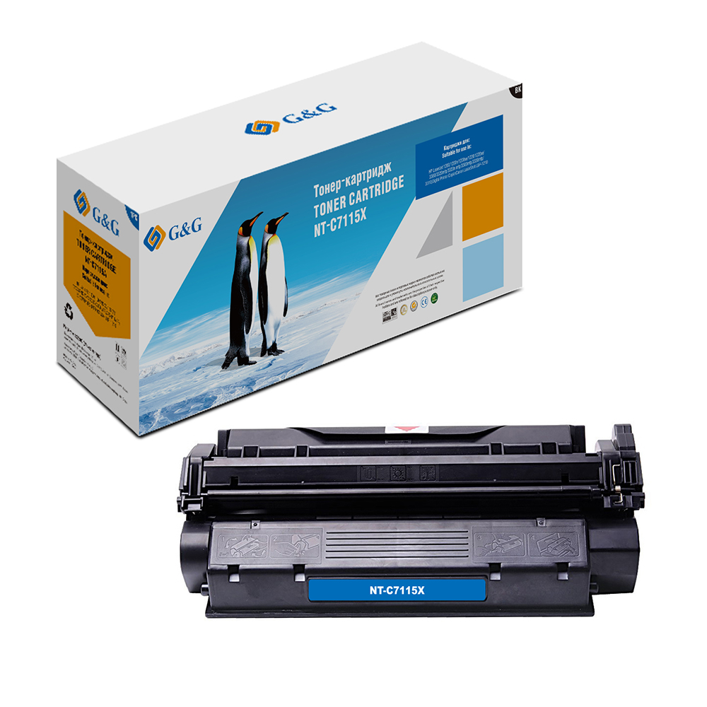 Computer Office Office Electronics Printer Supplies Ink Cartridges G&G NT-C7115X for HP LaserJet 1200/3300/3320/3330