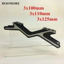 Quadro de velocidade da série de hoocore 7000 para 3x100mm 3x110mm 3x125mm flexível que compete 100mm 110mm trilha 125mm longa maratona patinação base