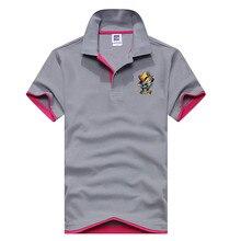 Brand New Men's Polo Shirt Men Cotton Polyester Polo Shirts Short Sleeve shirt A spoof printing Plus Size XS-3XL mens polo shirt