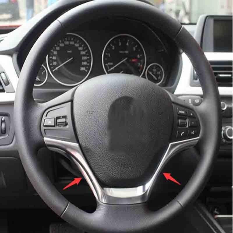 ABS cadre de volant garniture accessoires de voiture pour BMW série 3 F30 F34 320 328 2013 2014