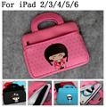 Прекрасный характер ( девушка ) мода 10 дюймов мягкая сумка универсальный планшет чехол для ipad 2 3 4 5 6 и других планшет / книгу ( < 10 дюймов )
