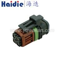 Бесплатная доставка 5 комплектов tyco 4pin корпус штекер Авто Водонепроницаемая Женская кабельная система разъем 1337352-1
