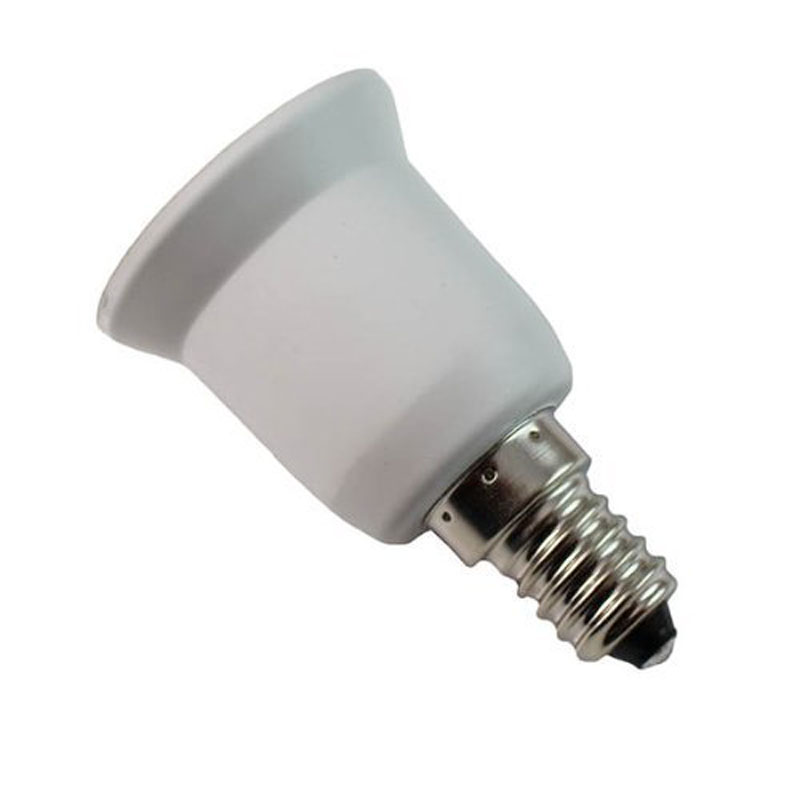 E14 to E27 Lamp Holder Converter Socket Light Bulb Lamp Holder Adapter Plug Extender Led Light Use JD9 WWO66