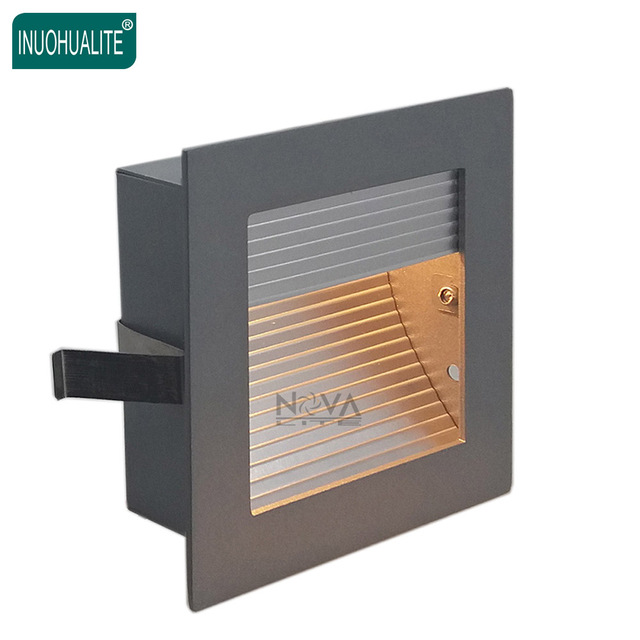 indoor step lights wall indoor step lightsled staircase stair lighting scoop light brush aluminum low level wall