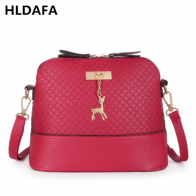 Pure leather Crossbody Bag