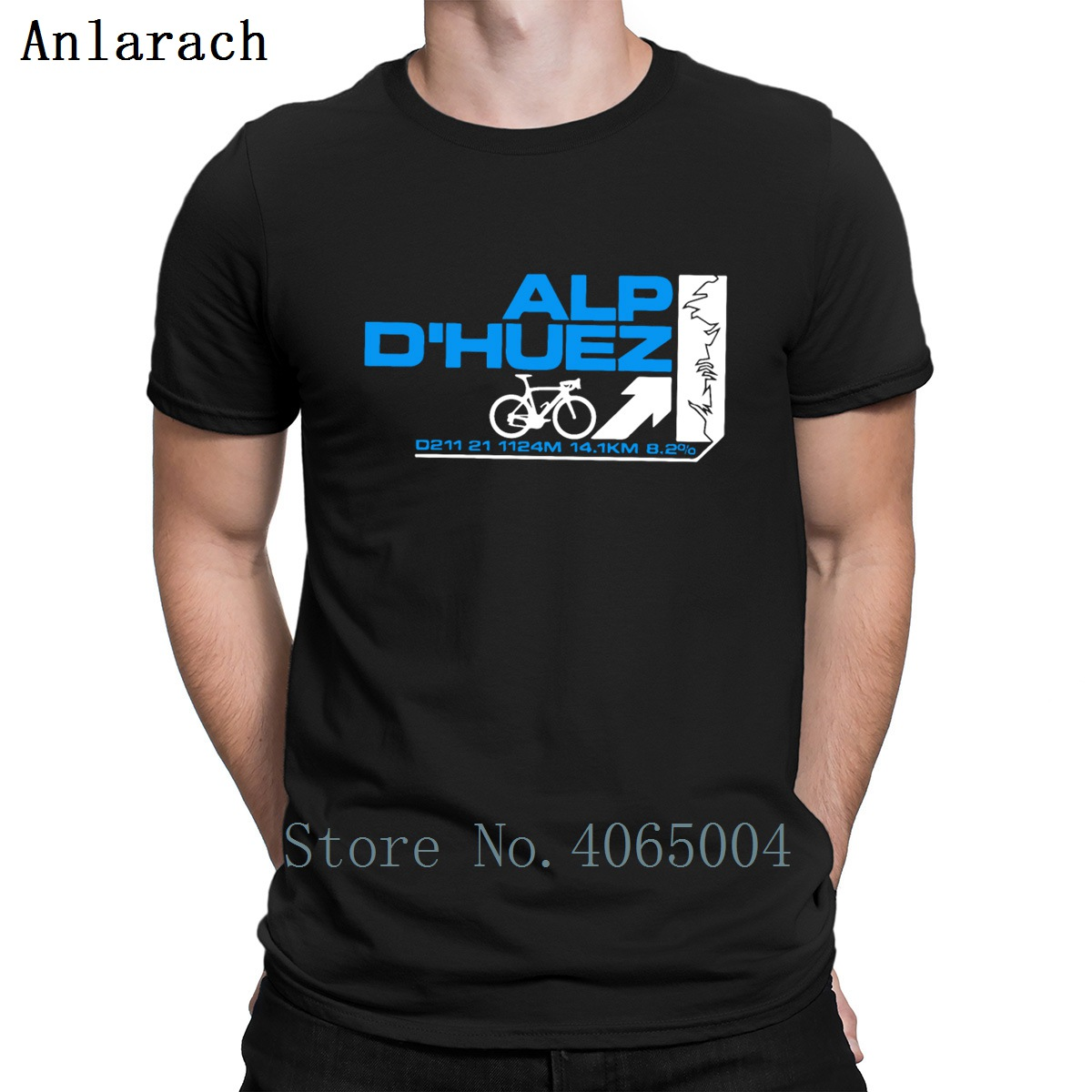 Touring De France Alp D Huez Cycling T Shirt Funny Casual Summer Style Interesting Tee Shirt Family S-XXXL Customize Shirt