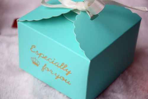 Us 58 26 Blue Especially For You Candy Box Party Wedding Favor Bakery Gift Cookie Cup Cake Box Ch 5021202 In Gift Bags Wrapping Supplies From