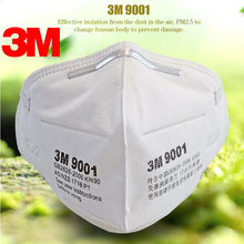 10pcs 3M 9001 Mask Anti dust-masksPM 2.5mask non woven fabric folding filter mask Adult N95  safety masks