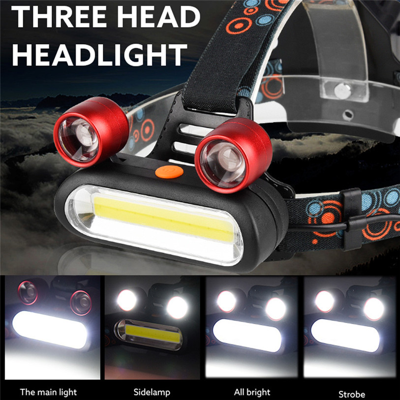 15000LM XM-L T6 LED Bicycle bike HeadLight Head Light Lamp Torch Flashlight