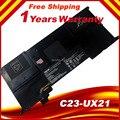 Подлинная аккумулятор для Asus ZenBook UX21A UX21E C23-UX21 Ultrabook Батареи 7.4 В 35wh Бесплатная доставка
