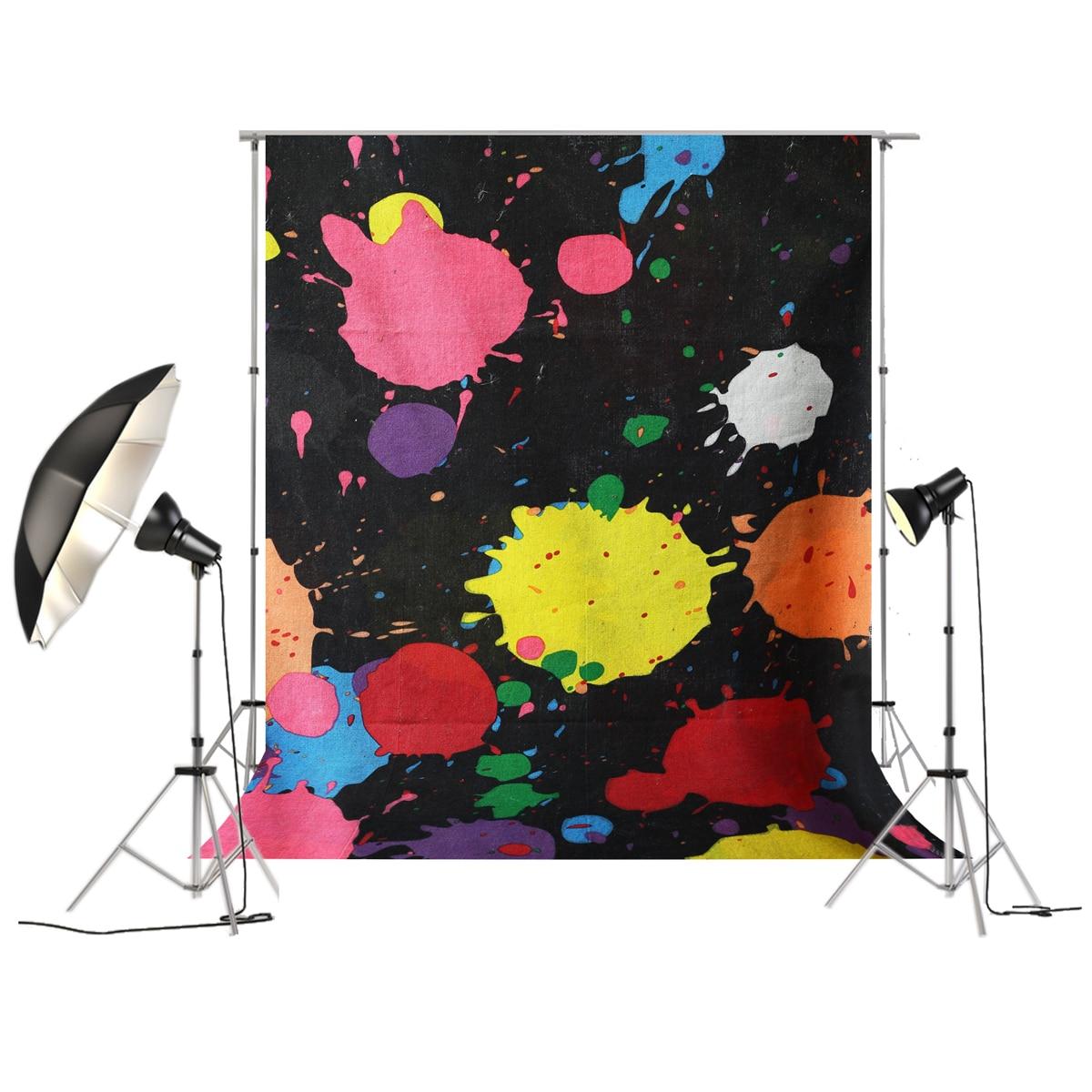 Давайте свечение фон вечерние партии события краски брызг баннер Фон Photo Booth Shoot Glow тема вечерние партии фотографии D-1368