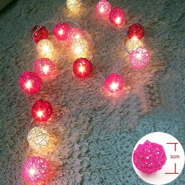christmas led string lights outdoorindoor gerlyanda battery operated led garland holiday fairy lights 20