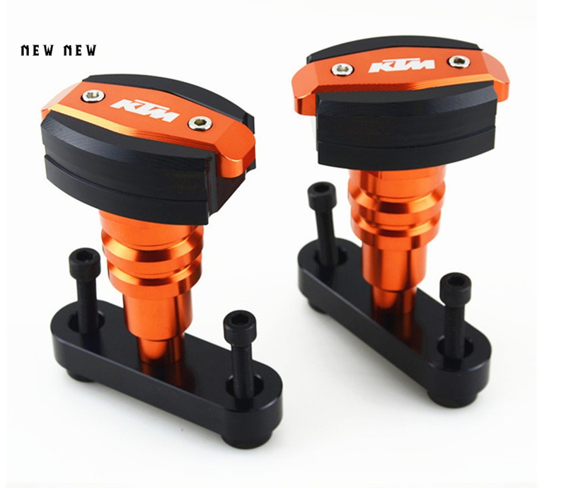 Motorcycle   falls to protect the ball CNC AluminumFrame Slider Anti Crash Protector  For KTM DUKE 125 200 390Motorcycle   falls to protect the ball CNC AluminumFrame Slider Anti Crash Protector  For KTM DUKE 125 200 390