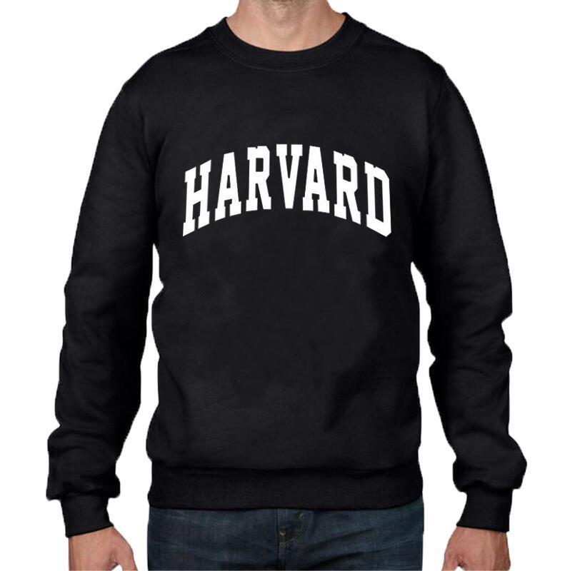 funny sweatshirt harvard students pullover hip hop sweartshirt fashion casual streetwear hipster crewneck hoodies