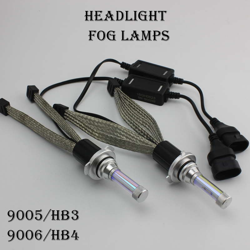 OCSION LED 9006 HB4 Headlight Bulbs 45w 5200lm yellow white Automotive Headlamp Fog Light Kit H4 H7 H11 D2 D2R D3R D4R D4S D4R