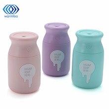180ML Milk Bottle Mini Humidifier 3 Colors DC 5V USB Air Humidifier For Home Desk Car
