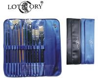 Free shipping high grade 14pcs set scrub brush pen Gouache paintbrush oil painting paintbrush artist paintbrush