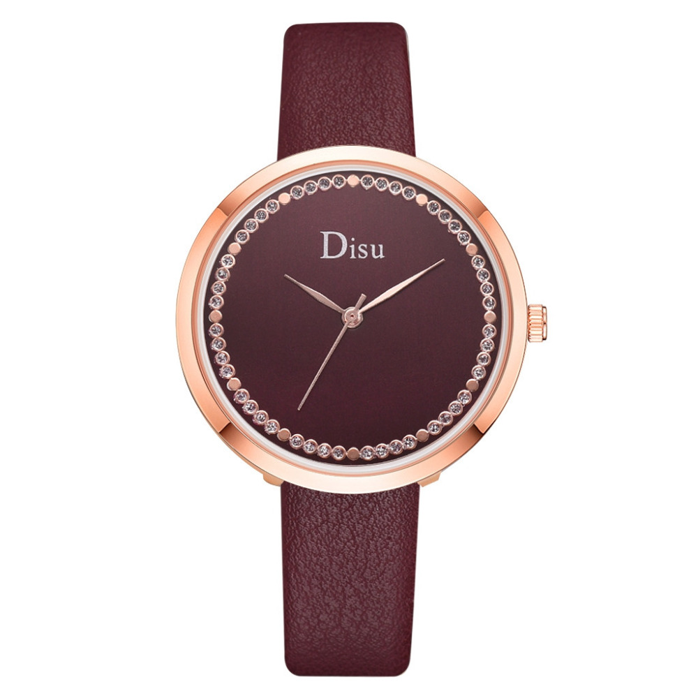 Fashion Mesh Watches Women's Watches Casual Quartz Analog Watches gift Rose Gold Girls ladies Hot Sale Flowers Dress Hallow #A