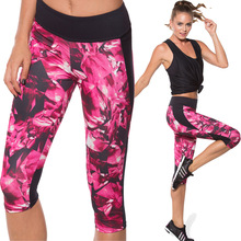 Yoga pants Women Skinny Close-fitting high-elastic Print Leggings Compression running training Tights Calzas Deportiva Mujer