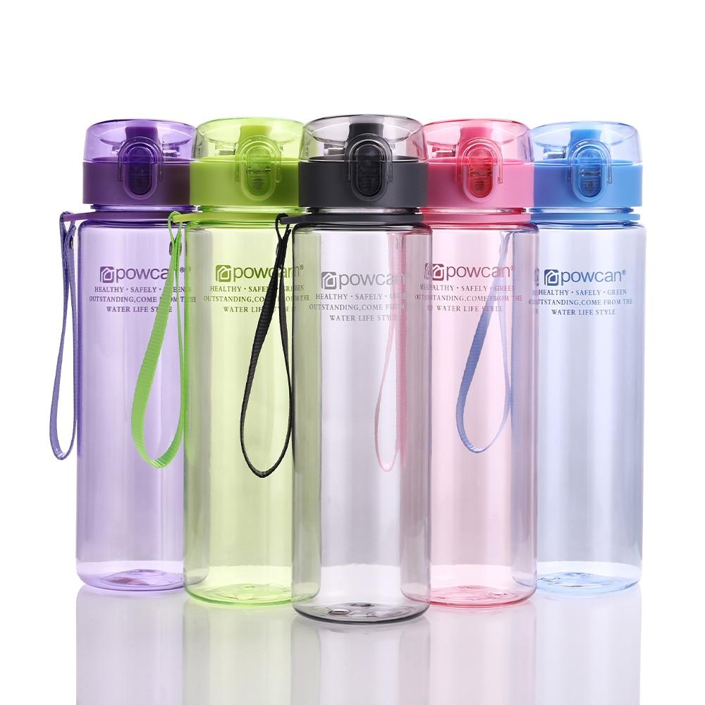 Water Bottle 400ml 560ml, Drinking Shaker Bottles Hiking Portable Bottle For Water 3