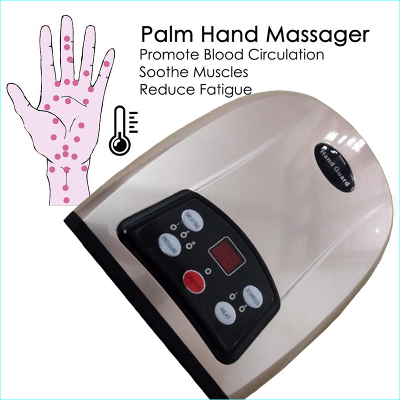 Electric Acupressure Palm Hand Massage Device Palm Whitening Firming Massage Apparatus Women Beauty care Master