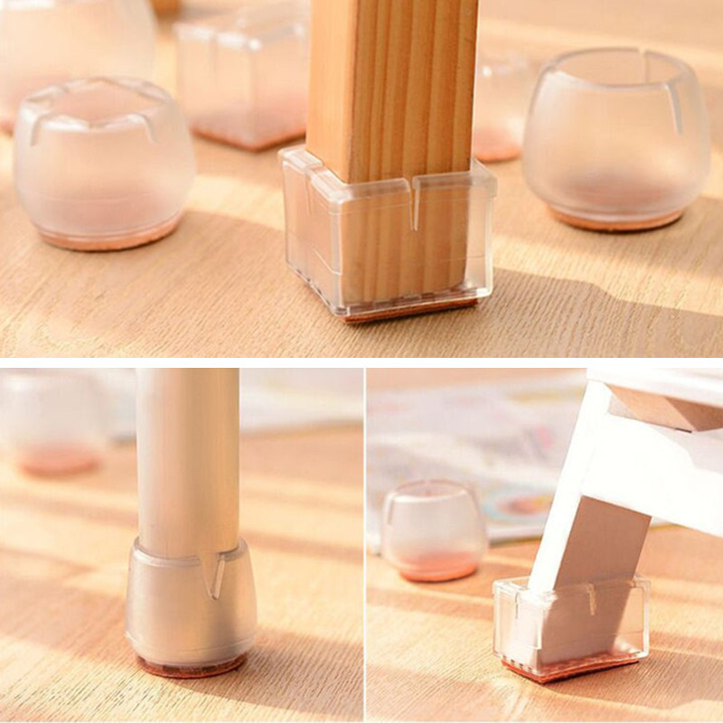 4 Pieces Chair Leg Caps Feet Pads Furniture Table Covers Wood Floor  Protectors FTFAFCCL In Chair Cover From Home U0026 Garden On Aliexpress.com |  Alibaba Group
