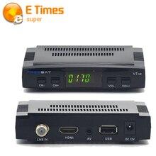 2016 V7 Freesat HD DVB-S2 Receptor de TV Por Satélite completo 1080 P Apoyo Youporn Cccam Newcamd Biss Clave PowerVu Set Top caja
