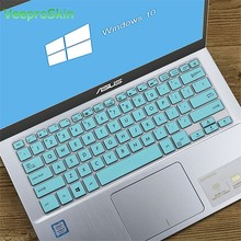 14 inch Keyboard Cover protector For Asus Vivo book A407M A407UA A407U A407 A407MA A407UF a407ub X405U X405UA X405UQ laptop(China)
