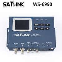 Original Satlink DVB-T WS-6990 Terrestrial Finder 1 Route DVB-T modulator/ AV/ HD Meter WS6990 Satlink 6990 Digital Meter Finder