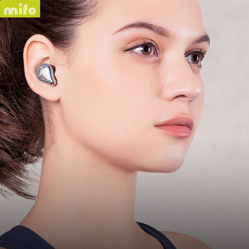 Mifo O5 Bluetooth 5 0 Headphones Wireless Binaural Ultra Small In ear Sports Running Waterproof Music Listening Song Universal in Bluetooth Earphones Headphones from Consumer Electronics