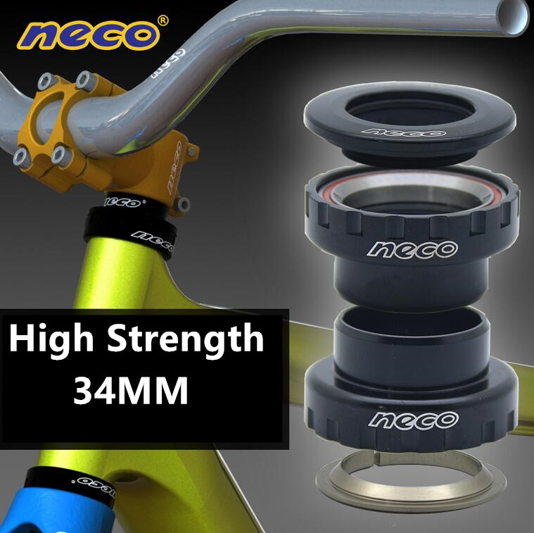 Neco high strength 34mm Is34/28.6 Is34/30 1-1/8 bearing repair parts cycling fork mountain mtb street bike bicycle headsets set запчасть neco neco педали
