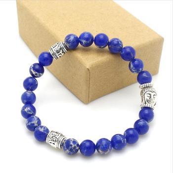 Bracelet Perle Bleu