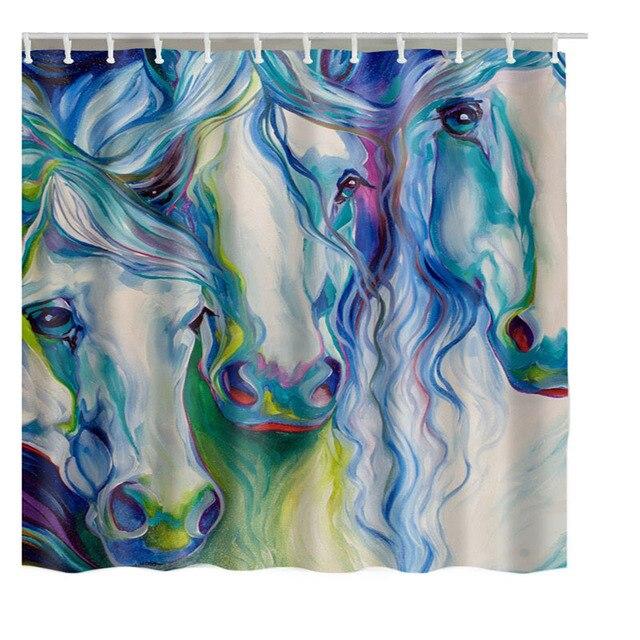 Luxurysmart Custom De Douche New Bath Waterproof Horse Shower