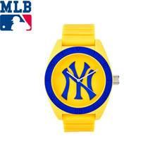 MLB NY Fashion Simple Cool Watches Rubber Waterproof  Lover Watches  Men Women Quartz  Sport Student Wrist Watch ClockD5001