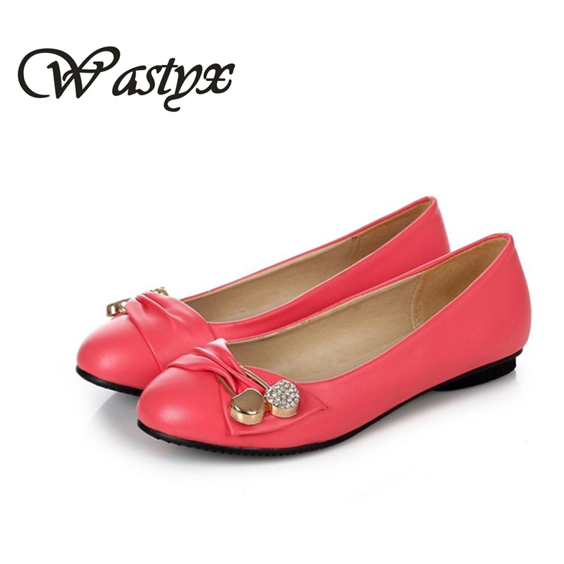 New Women Flats Shoes Leather round toe Shoe ladies fashion  Leather Girl Shoes slip on work footwear spring summer big size 2017 new fashion women summer flats pointed toe pink ladies slip on sandals ballet flats retro shoes leather high quality