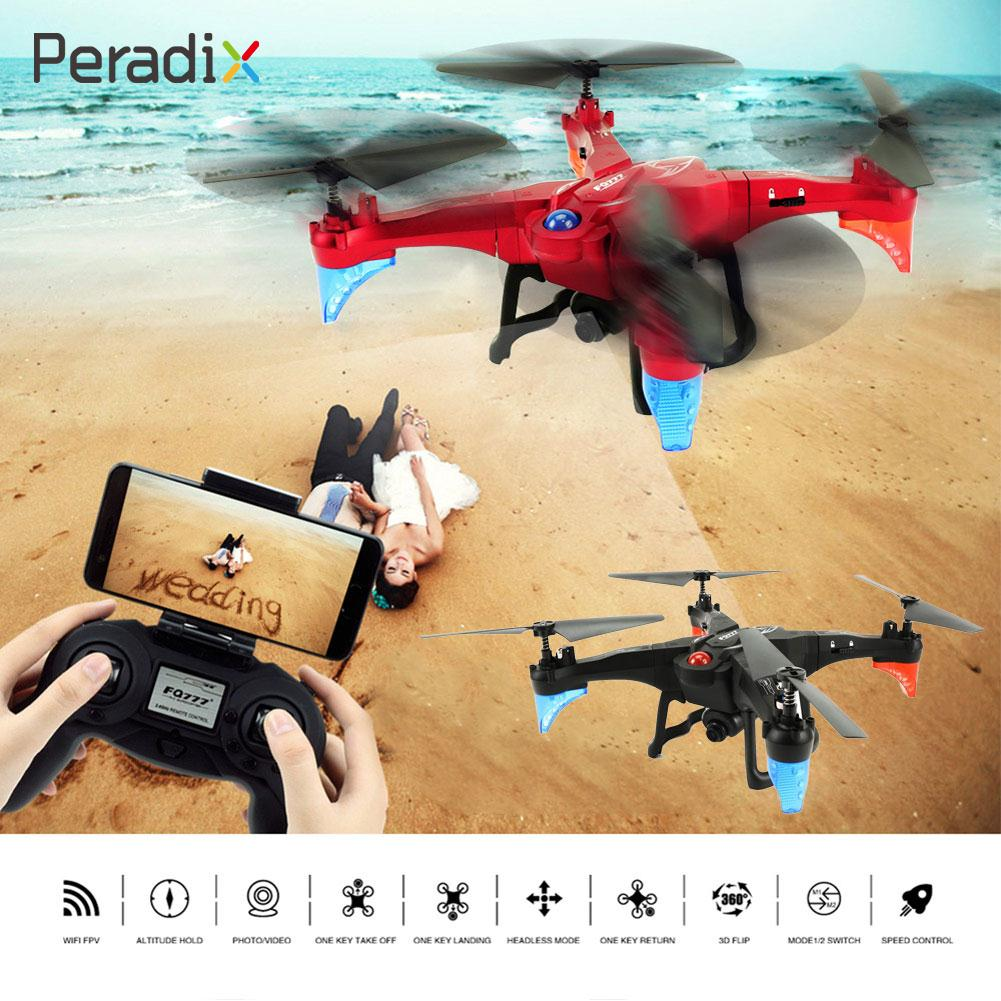 Intelligent RC Aircraft Toy Red Phone APP Control Headless Mode RC Drone WIFI FPV Aerial Photography RC Quadcopter mini drone rc helicopter quadrocopter headless model drons remote control toys for kids dron copter vs jjrc h36 rc drone hobbies