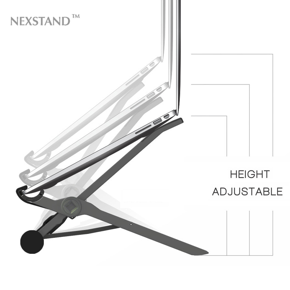 NEXSTAND Lapdesk Adjustable Laptop Folding Portable Office