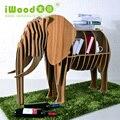 Direto da fábrica Europeia Nordic enfeites artesanais casa criativa decoração elefante artesanato em madeira enfeites de madeira frete grátis