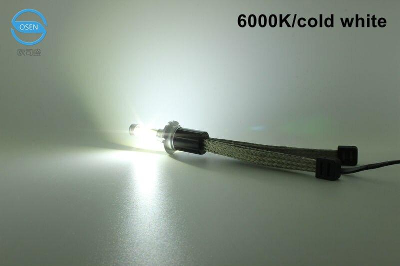 Ossen R4 H7 LED Headlight bulbs 30w 3600lm 3000k Yellow 4300k 5000k 6000k White 8000k Blue Auto Car Headlights Fog Lamp Kits 12v6